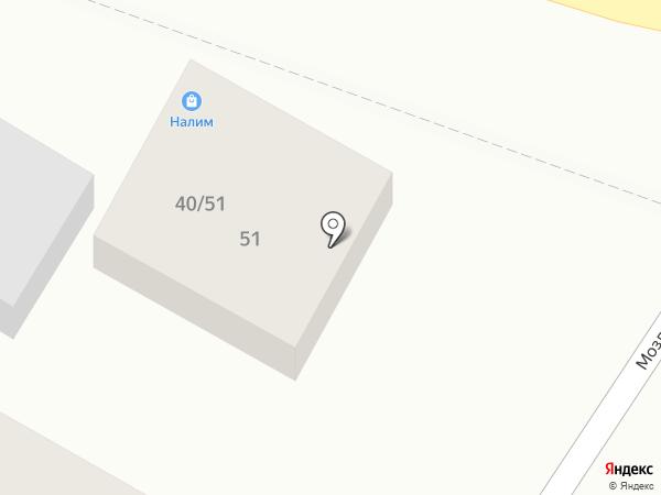 Налим на карте Ростова-на-Дону