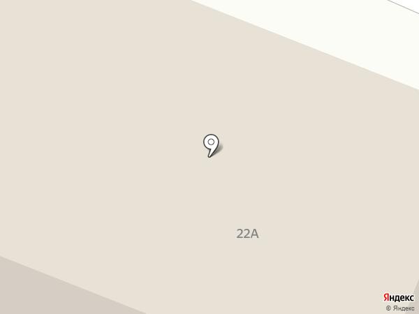 Бригантина на карте Северодвинска