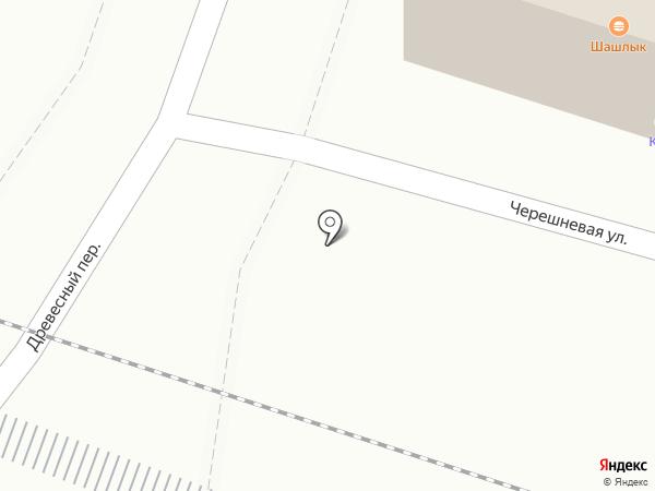 Гостиница на карте Ростова-на-Дону