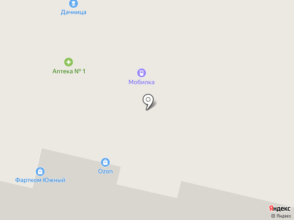 Максим на карте Северодвинска