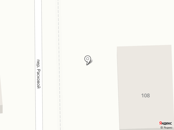 Огородник на карте Ростова-на-Дону