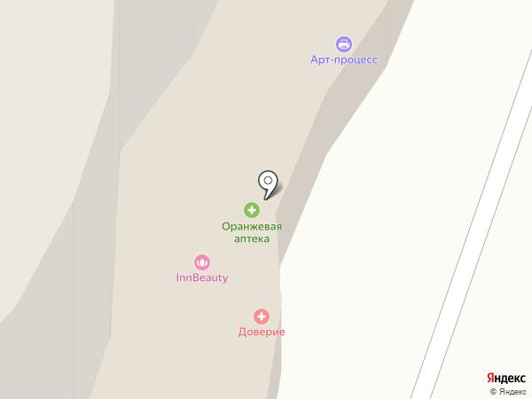 Орхидея на карте Рязани