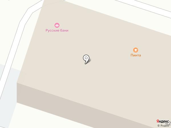 Виста на карте Рязани