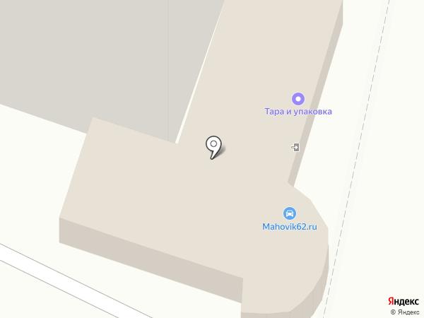 Маховик62 на карте Рязани