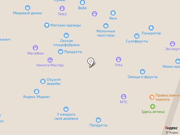 DNS на карте Рязани