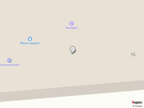 АЗС РуссНефть на карте Вологды