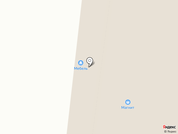 Магазин верхней и джинсовой одежды на карте Северодвинска