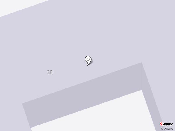 Детский сад №95, Радуга на карте Северодвинска