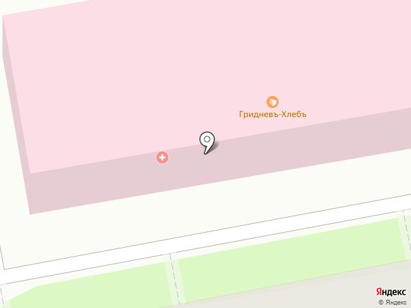 Городская поликлиника №9 на карте Ростова-на-Дону