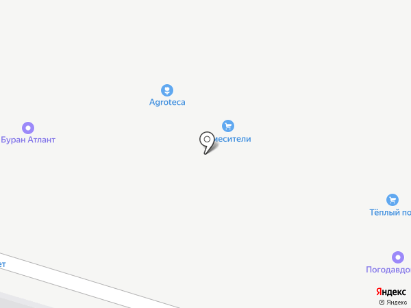 СЕТКОФФ на карте Янтарного