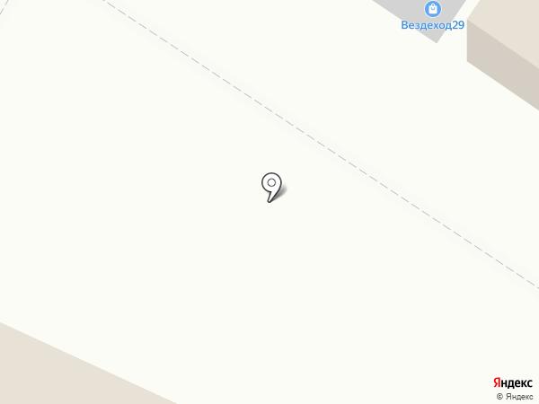 Россиянка на карте Северодвинска