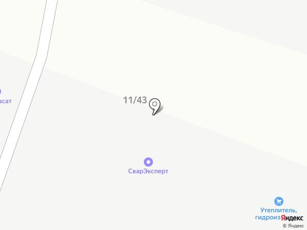 Теплобренд на карте Янтарного