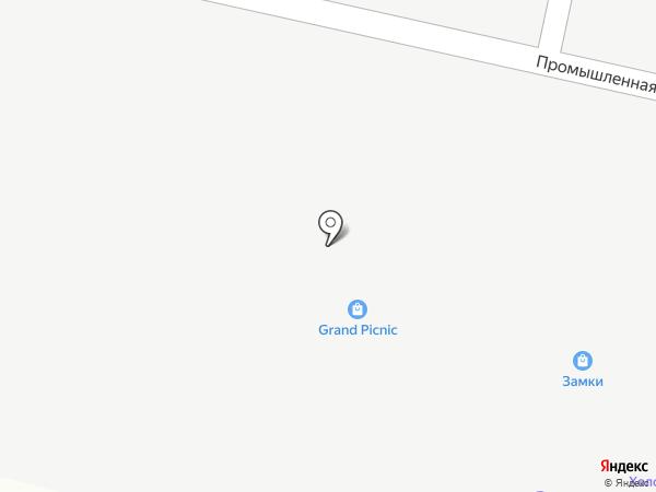 Сеть магазинов спецодежды на карте Янтарного