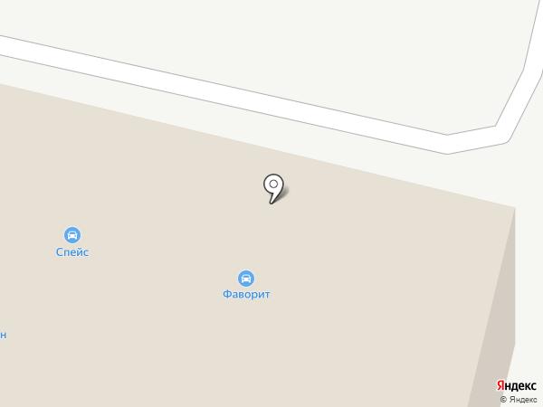 Роса-1 на карте Ярославля