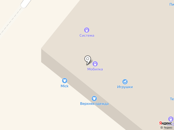 Магазин крепежных изделий и замков на карте Северодвинска