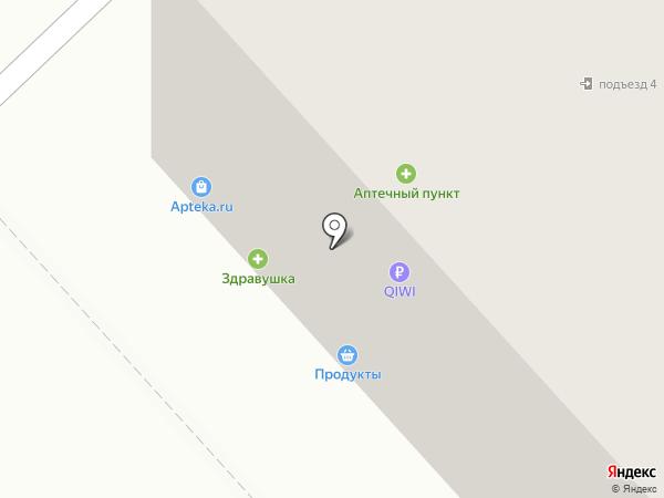 Здравушка на карте Ярославля