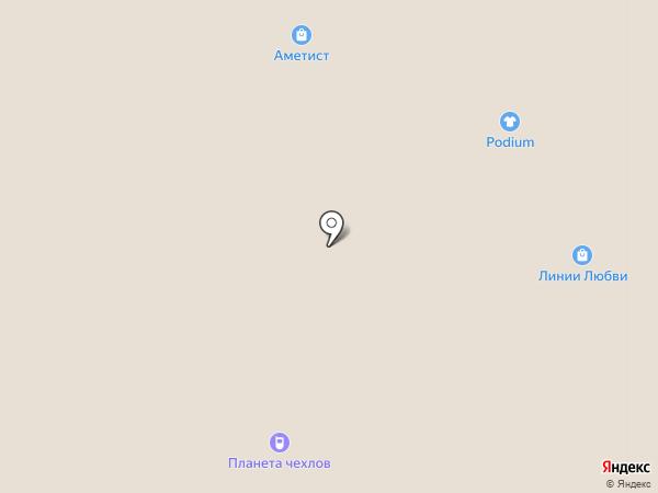 Планета Чехлов на карте Вологды