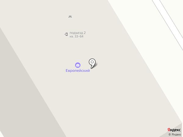 ЖК Европейский на карте Ярославля