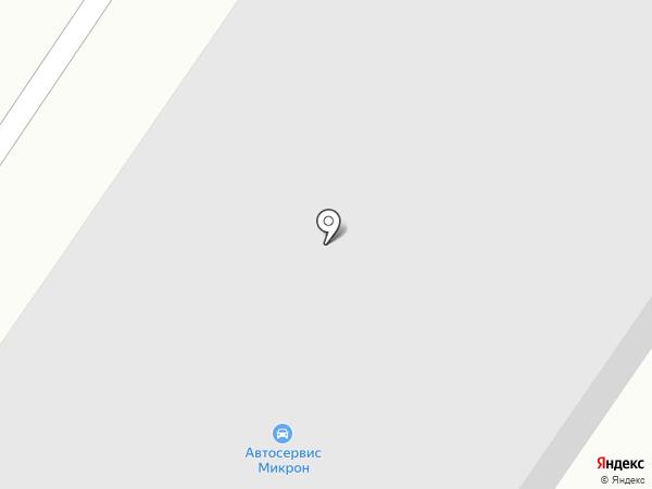 Микрон на карте Северодвинска