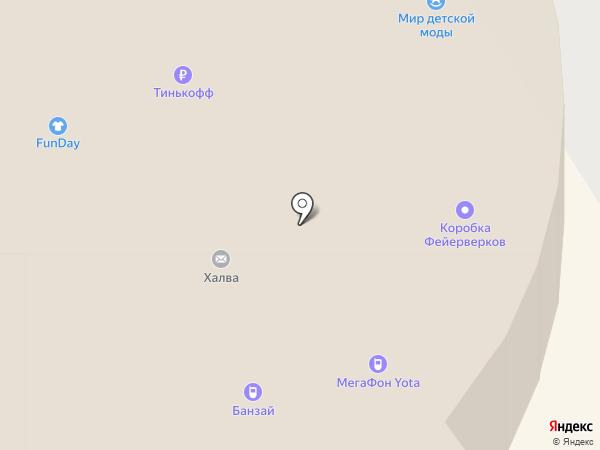 Банзай на карте Вологды