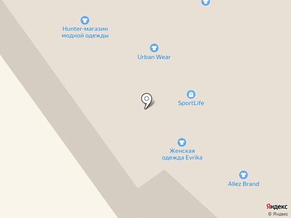 Allez brand на карте Вологды