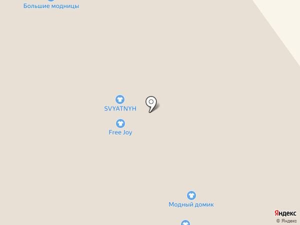 Модный домик на карте Вологды