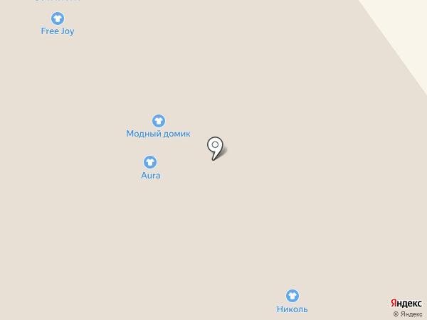 Николь на карте Вологды