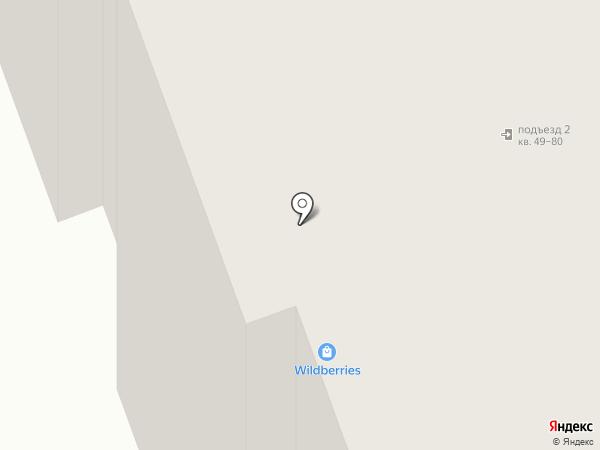 Лучик на карте Северодвинска