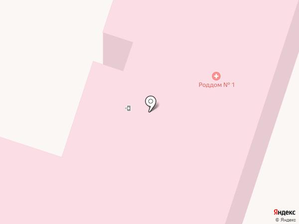 Родильный дом №1 на карте Рязани