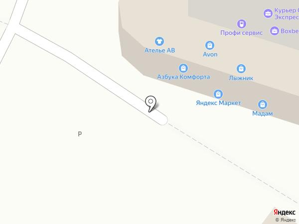 Золотые купола, ТСЖ на карте Рязани