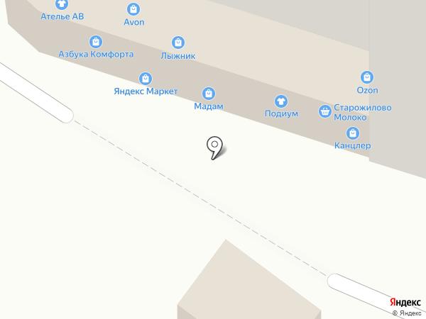 Экватор на карте Рязани