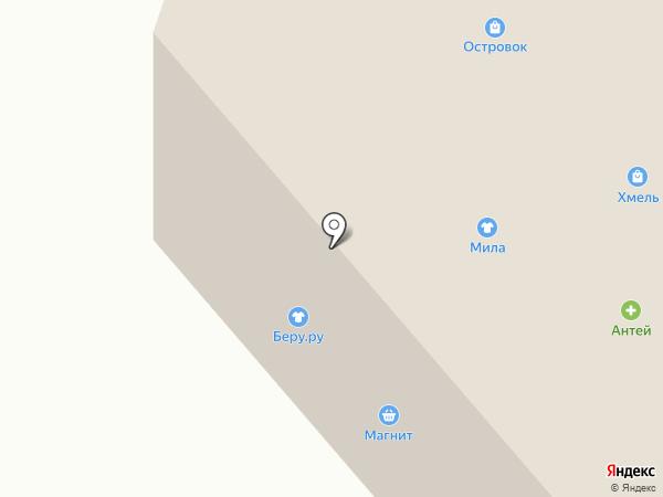 Островок на карте Северодвинска
