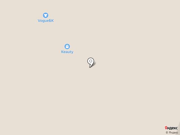Vogue на карте Вологды