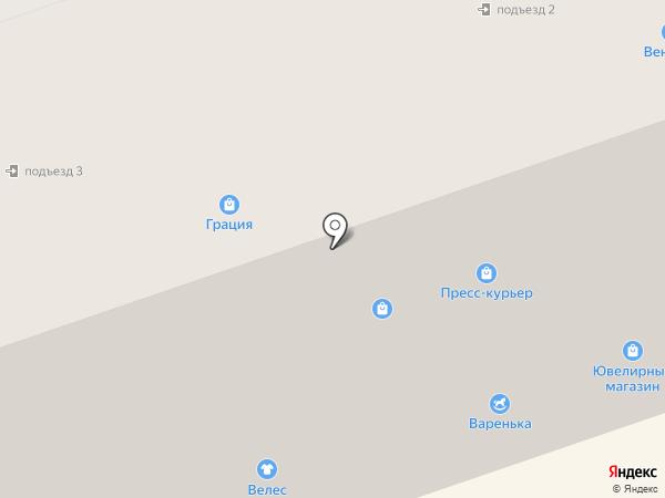 Карапуз на карте Северодвинска