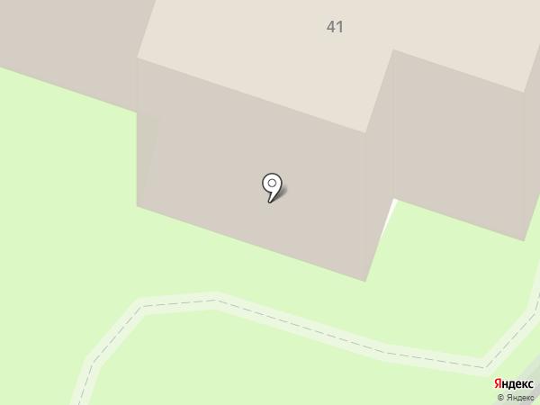 Церковь Космы и Дамиана на карте Казинки