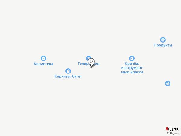 Территория камня на карте Янтарного