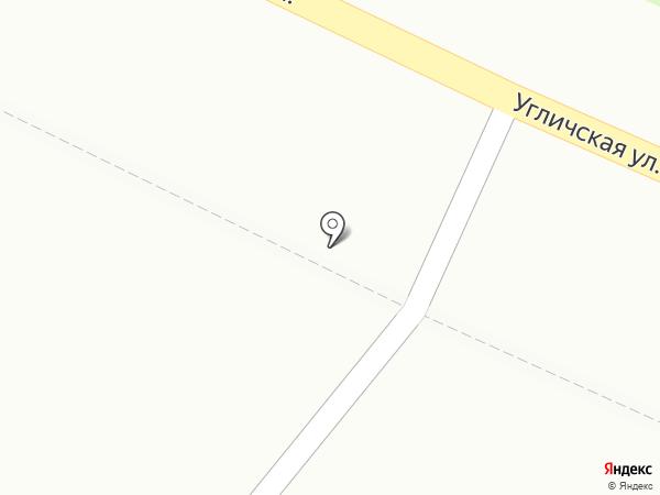 Чистюля на карте Ярославля