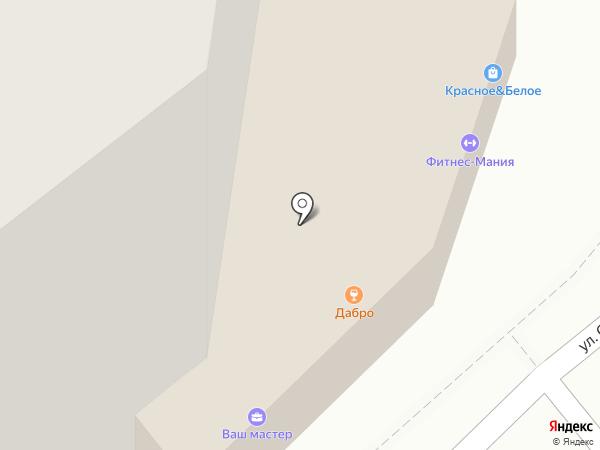Стеклокомплект на карте Рязани