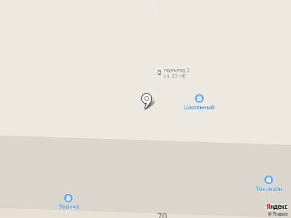 Атэл на карте Ярославля