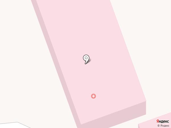 Северодвинская городская детская клиническая больница на карте Северодвинска