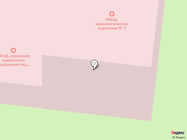 Рязанский областной клинический наркологический диспансер на карте Рязани