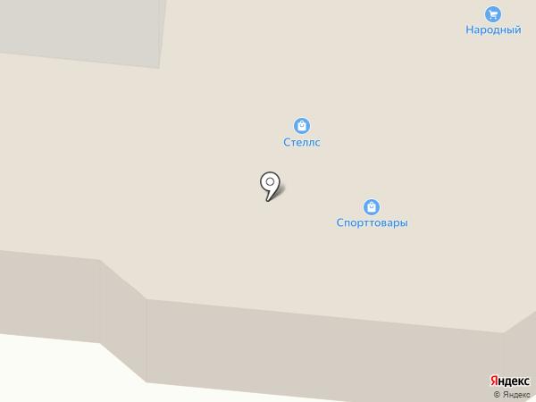 Северодвинский торговый центр на карте Северодвинска
