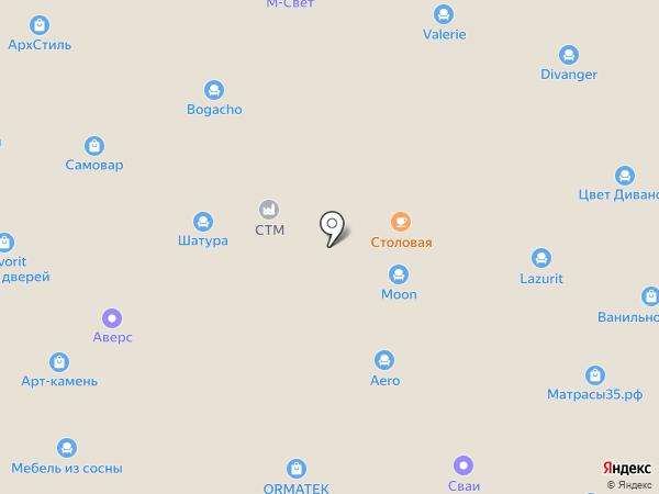 Климат-Контроль на карте Вологды