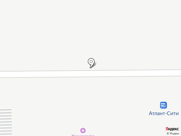 АВАНГАРД на карте Янтарного