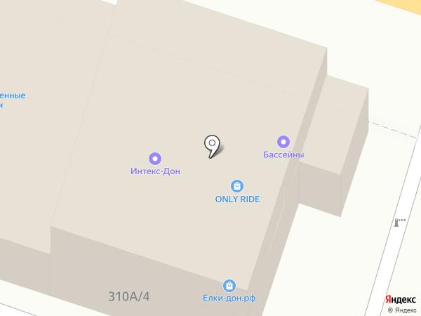 Магазин салютов и фейерверков на карте Ростова-на-Дону