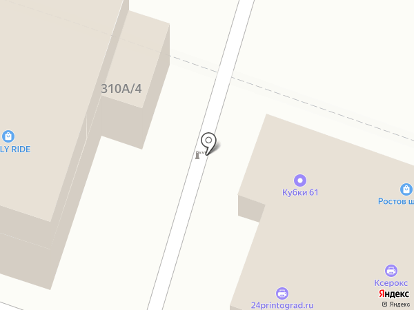 МегаБайт на карте Ростова-на-Дону