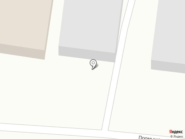 Завод Новая Кровля на карте Янтарного