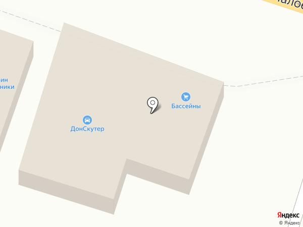 Оптовый магазин бижутерии на карте Ростова-на-Дону
