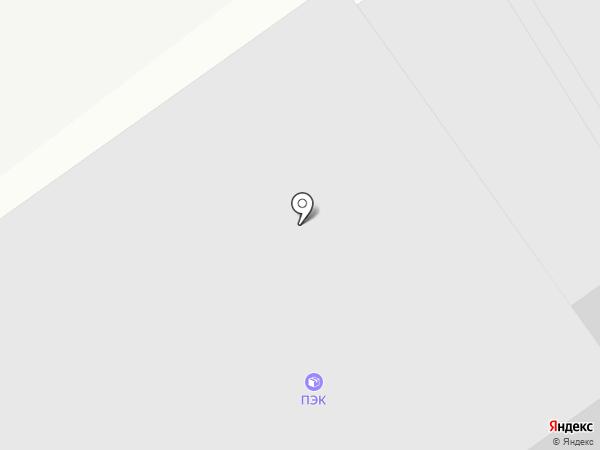 ПЭК на карте Вологды