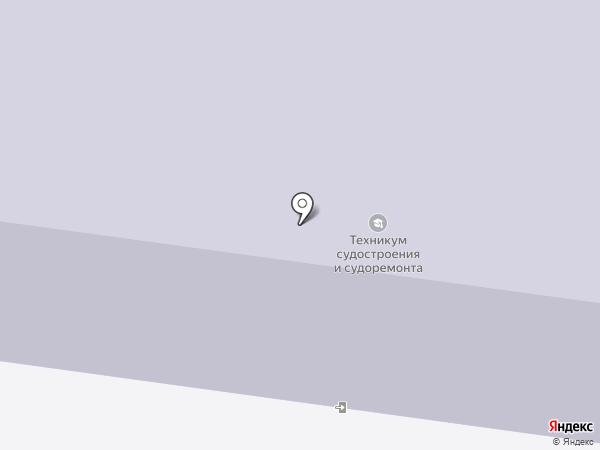 Северодвинский техникум судостроения и судоремонта на карте Северодвинска